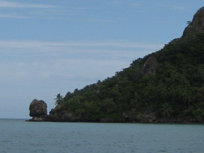 Morgan's Head. Isla Providencia, Colombia