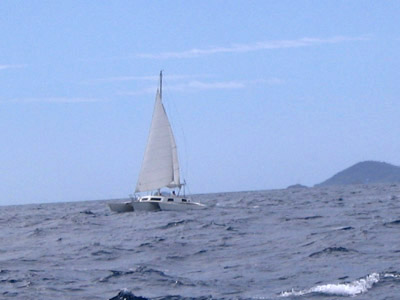 Searunner 31 under sail