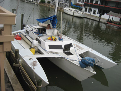 searunner 31 at the dock