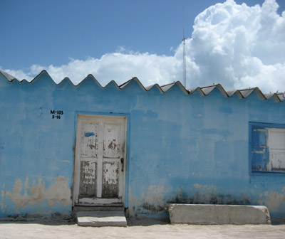 buildings. Isla Holbox, Mexico