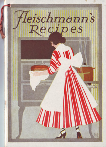 Vintage Cookbook. Fleischmans recipes.