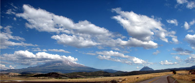 mount shasta panorama. Weed, California