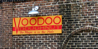 Voodoo Doughnut, The magic is in the hole, Portland, Oregon