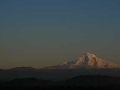 Mount Hood Oregon from Mount Tabor