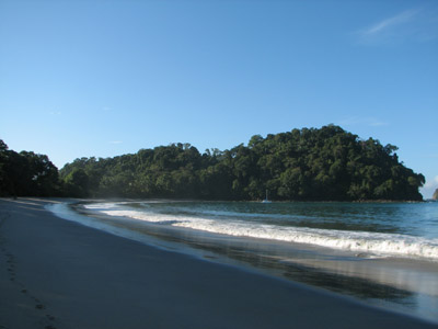 Anchored at Parque Manuel Antonio, Costa Rica