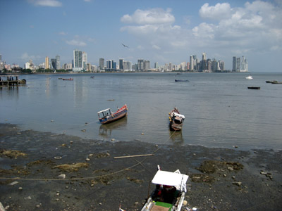 Panama City Skyline from the causway