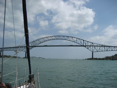 Bridge of the Americas. Panama Canal