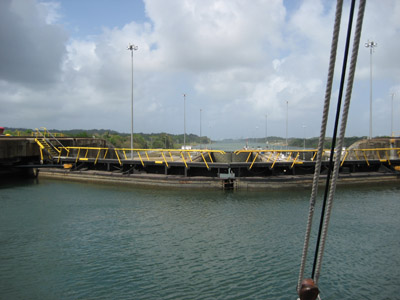 Gatun Locks. Panama Canal