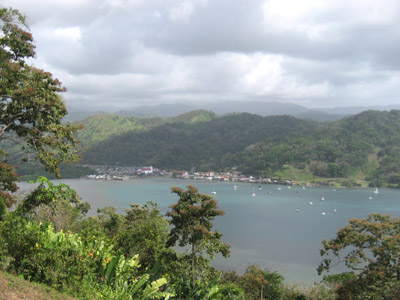 anchorage at portobelo panama