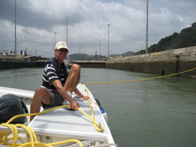Richard. Pedro Miguel Locks Panama Canal