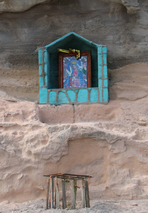 Road side shrine, Baja California Sur, Mexico