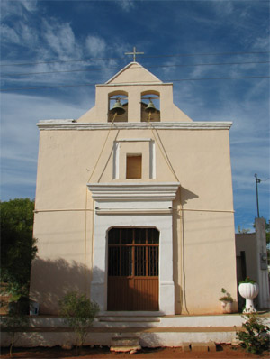 Old Church, Gallina, Baja California Sur, Mexico