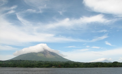 Volcanos Conception and Madres. Isla Omotepe, Nicaragua