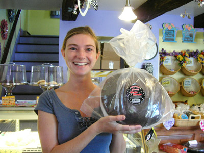 Cheyenne with large Whoopie Pie